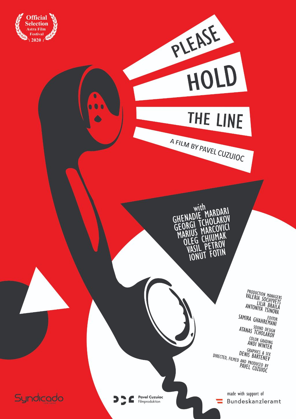 676_2020 Please Hold the Line_Poster 1