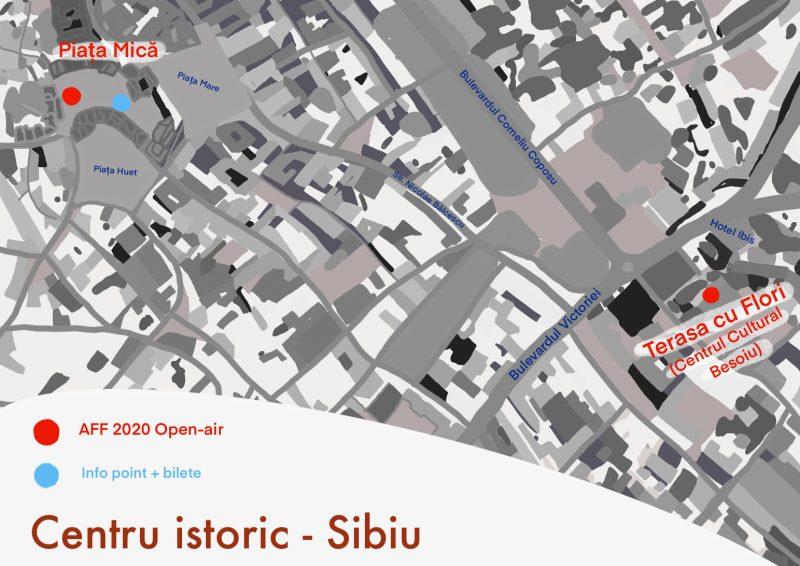 Hartă-locații-Astra-Film-Festival-2020-Centru-istoric-Sibiu